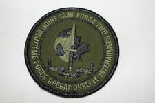Canadian Special Forces JTF2 OD Subdued Patch Insignia