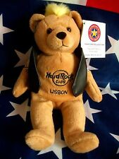 HRC Hard Rock Cafe Lisbon Lissabon Punk Bear Mohawk 2008 Yellow Hair Herrington