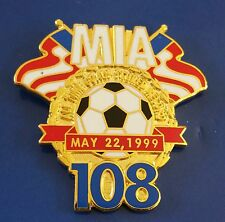 #9 MIA HAMM ALL TIME RECORD GOALS SCORED MAY 22, 1999 LAPEL PIN