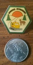 Conover Sno-Buddies snowmobile club pin, Wisconsin