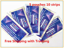 CREST3D White Luxe Professional Effects White Teeth Whitening 5pouches 10strips