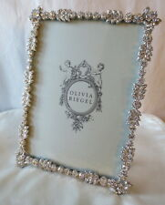 "Olivia Riegel Duchess Swarovski Crystal 5"" x 7"" Photo Frame  NEW! In Box!"