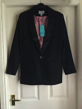 BNWT MONSOON BLACK BLAZER JACKET SZ 12  NEW RRP £65