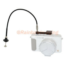JJC Mechanical Cable Release Adapter +40cm Cable for Panasonic LX-3 Leica D-LUX4