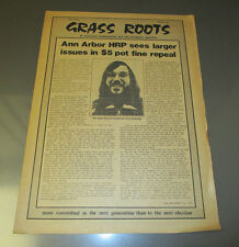 1973 GRASS ROOTS Underground Newspaper People's Party VG+ v.2 #7 Spock on China