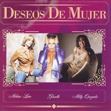 FREE US SH (int'l sh=$0-$3) NEW CD Melina Leon, Gisselle, Milly Que: Deseos De M