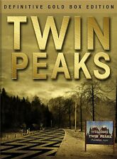Twin Peaks Complete Series Season 1-2 DVD Set Gold Box Collection Episode Lot TV