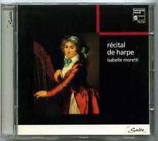CD Isabelle MORETTI / Récital de harpe (Bach, Dussek, Hindemith..)