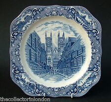 Vintage Johnson Brothers Old London Sq Sandwich Plates Westminster 24cm in VGC