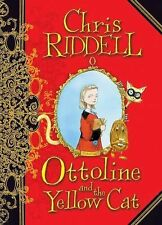 Ottoline and the Yellow Cat by Chris Riddell 2008 Hardcover