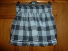 ABERCROMBIE & FITCH - Gray Checked Skirt - Size X Small