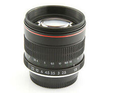Top 85mm f/1.8 Portrait Lens for Canon EOS 70D 60D 7D 6D 5D T5i T5 T4i T3 T2i