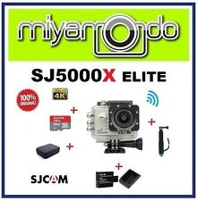 SJCAM SJ5000X WiFi Action (Silver) + Monopod + Sandisk 32GB + Batt+Charger + Bag