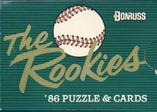 1986 Donruss Rookies Factory Sealed Set Barry Bonds, Jose Canseco, Bo Jackson RC