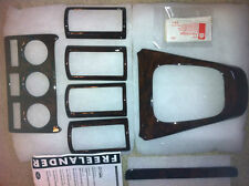 LAND ROVER FREELANDER 2004-2005 WALNUT WOOD VENEER INTERIOR TRIM KIT STC50404
