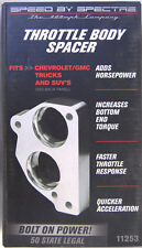 SPECTRE POWER PLATE THROTTLE BODY SPACER 11253 CHEVY GM 7.4 Big Block 1987-1990
