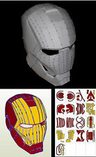 HELMET IRON MAN. PLANOS CASCO MARK VI. ESCALA 1:1 _MARVEL, COMIC, TV, MANGA, ANI
