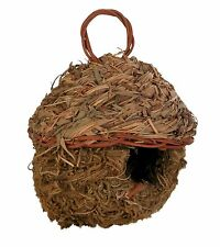 "Natural Hanging Grass Nest for Pet Birds 11cm (4.25"")"