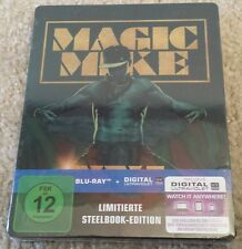 RARE! NEW! SEALED! Magic Mike XXL STEELBOOK AMAZON GERMANY EXCLUSIVE! Blu Ray