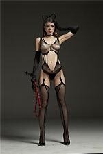 Lingerie Open Fishnet Body Stocking Bodysuit Underwear hosiery lot