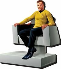 Star Trek: TOS Captain Kirk Figure in Bridge Chair 3-D Die-Cut Magnet NEW UNUSED