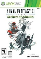NEW Final Fantasy XI 11 Online: Seekers of Adoulin Microsoft Xbox 360, 2013 NTSC