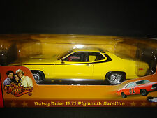 Auto World Plymouth Satellite 1971 Daisy Duke 1/18 Dukes of Hazzard