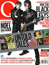 Q Magazine UK 309 April 2012 The BLACK KEYS Noel Gallagher New Order Bjork