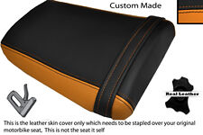 BLACK & ORANGE CUSTOM FITS HONDA CBR 600 RR3 RR4 03-04 REAR SEAT COVER