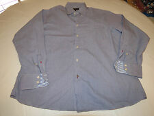 Ben Sherman 16 1/2 34-35 L Mens long sleeve button up dress casual shirt EUC @