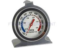 Stainless Steel Oven Thermometer Temperature Gauge Home Kitchen Food Meat Case
