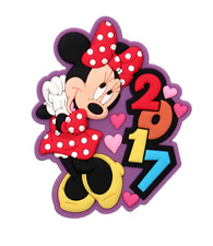 Disney Minnie Mouse Standing Purple 2017 Dated Magnet New Release Brand New