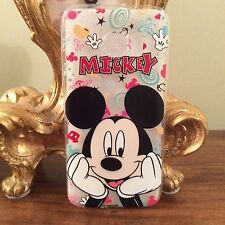 Samsung Galaxy S7 Edge Disney Mickey Minnie Mouse Phone Case Protective Xmas