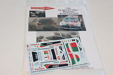 DECALS 1/43 PEUGEOT 207 S2000 MAGALHAES RALLYE MONTE CARLO 2010 RALLY