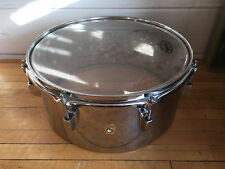 "Vintage 1960's Ludwig 14"" Steel Timbale"