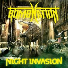 BOMBNATION - Night Invasion (NEW*CAN THRASH METAL*SLAYER*NUCLEAR ASSAULT)