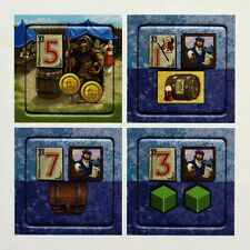 Village game Customer expansion 2 Inn & Port 4 tiles NEW in wrapper 2014