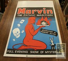 marvin the satanic magician poster