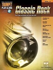 Classic Rock: Trumpet Play-Along Volume 3, Hal Leonard Corp., Very Good Book