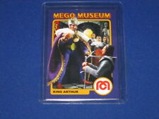 "THE KING ARTHUR ""ERROR"" SUPER KNIGHTS FIGURE WGSH MEGO MUSEUM PROMO TRADING CARD"