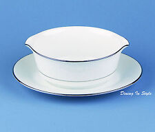 Gravy Boat with Attached Tray, MINT UNUSED Condition! Ranier, Noritake, 6909