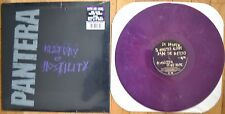 Pantera - History of Hostility Vinyl LP PURPLE New Sealed