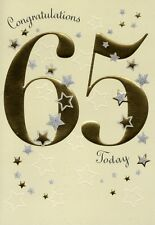 Happy 65th Birthday Greeting Card Lovely Greetings Cards Nice Verse