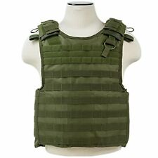 NcSTAR PALS MOLLE Military Plate Carrier Chest Rig Protective Armor Vest Green
