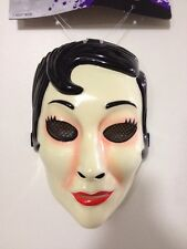 The Strangers Emo Girl Face Mask Movie Replica jason Myers Halloween Purge