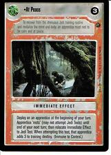 STAR WARS CCG DAGOBAH BLACK BORDER LIGHT SIDE RARE AT PEACE