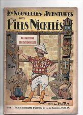 Les Pieds Nickelés n°8. Attractions sensationnelles. FORTON. SPE 1935. TBE