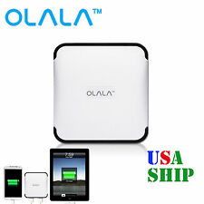 OLALA 10400mAh Power Bank Dual USB Port Big Capacity Battery Charger for iPhone7