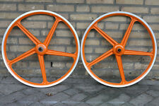 "Retro Kult NOS NEW Italian Grimeca 5 spoke wheels wheelset 26"" MTB ATB oldschool"