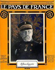 Portrait Admiral Amiral Auguste Boué de Lapeyrère Ministre de la Marine 1917 WWI